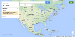 google map engine basemap