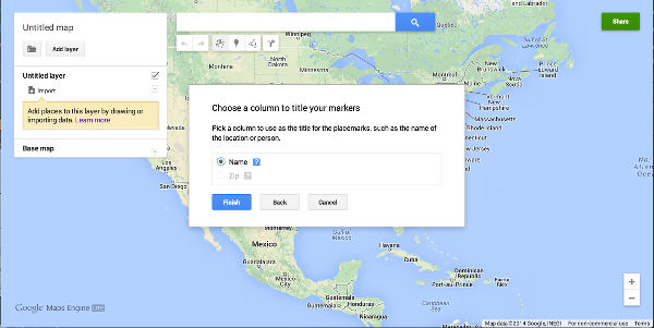 Google Maps Engine Marker