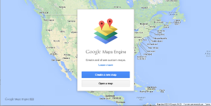 Google Map Engine Greeting