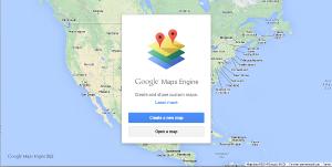 Google Map Engine Greeting